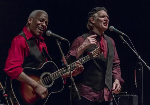 Reggie Harris and Greg Greenway